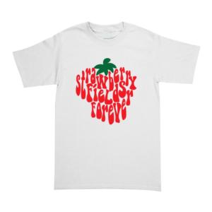 Playera The Beatles - Strawberry Fields