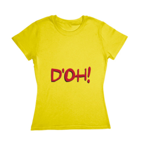 Blusa The Simpsons - D'oh!