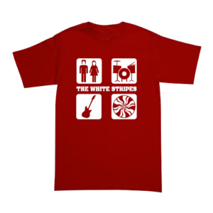 Playera The White Stripes