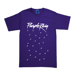 Playera Prince - Purple Rain - Morada