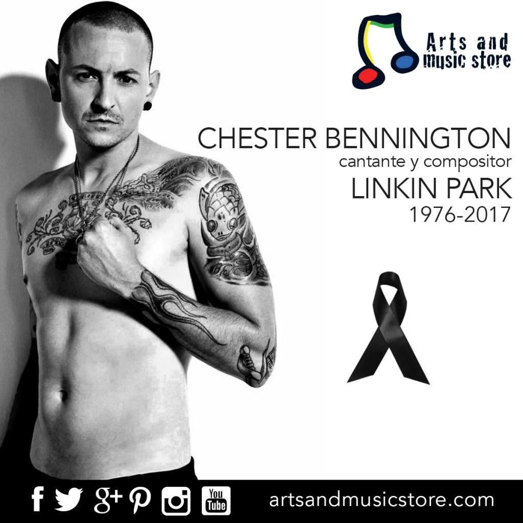 Chester Bennington - 1976 - 2017