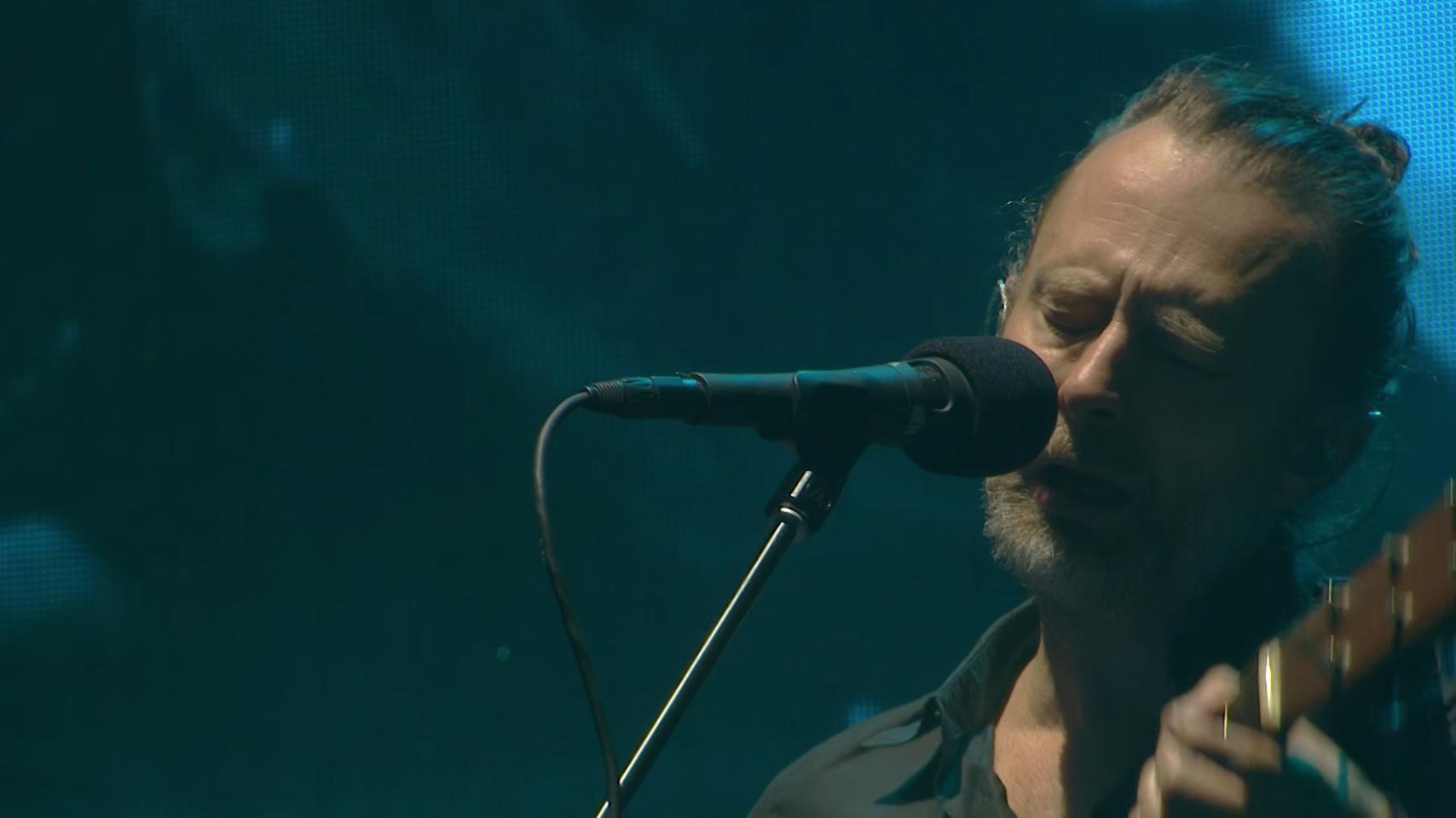 Radiohead comparte su presentación en Coachella