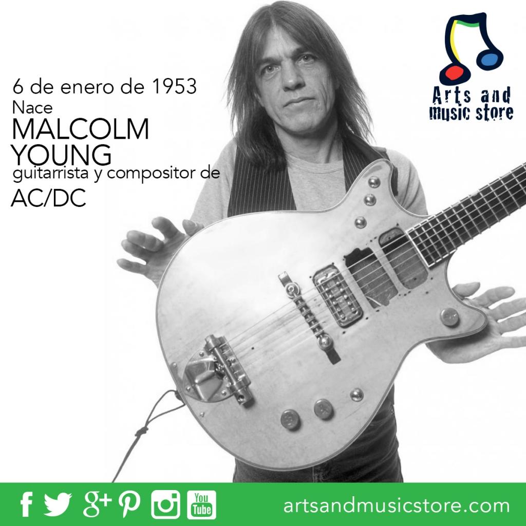 6 de enero de 1953 nace Malcolm Young guitarrista y compositor de AC/DC